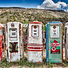 """""""Five Old Pumps"""" - New Mexico"""