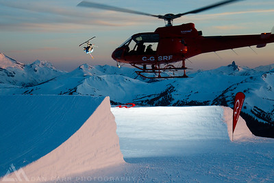 Blackcomb Heli Shoot - Alexi Godbout