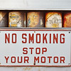 No Smoking Stop Your Engine