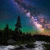 Milky Way over Milky Water