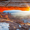 """""""Fire and Ice"""" - Canyonlands National Park, Utah"""