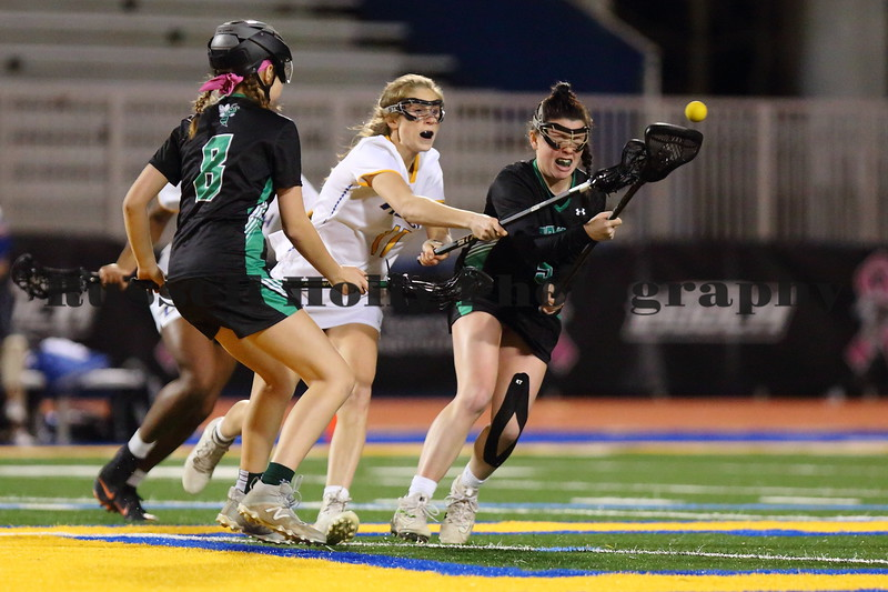 Chattahoochee HS Varsity Girls Lacrosse vs Roswell HS; February 25, 2019