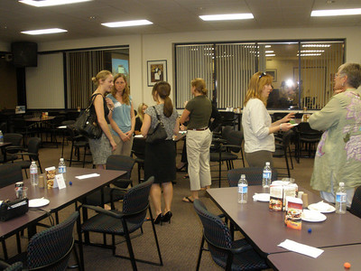 SWE Open House networking