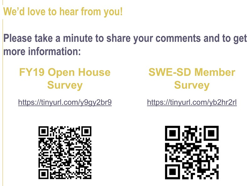 Open House and Member Feedback