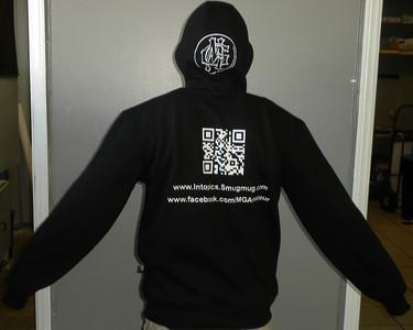 First to wear it - Back SweatShirt