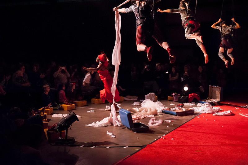Open Space 50 Sense Circus Show