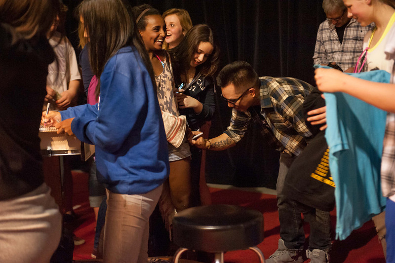 Blue Scholars Share the Stage with VHS Artists 2012