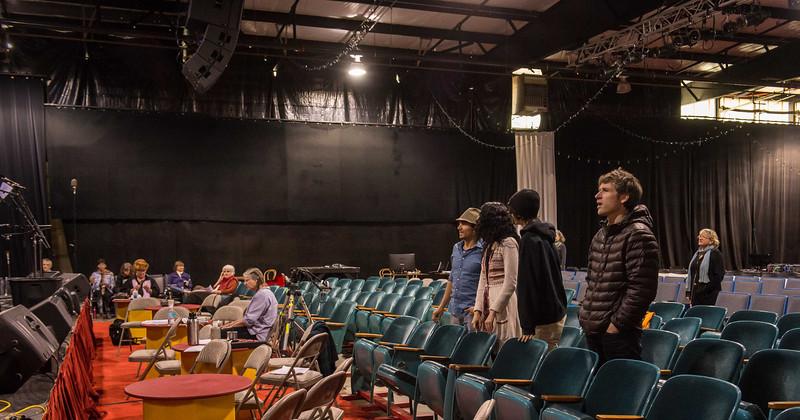 Church of Great Rain Season Finale Rehearsal 05-20-12