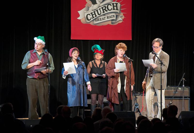 Church of Great Rain December Show 12-11-11