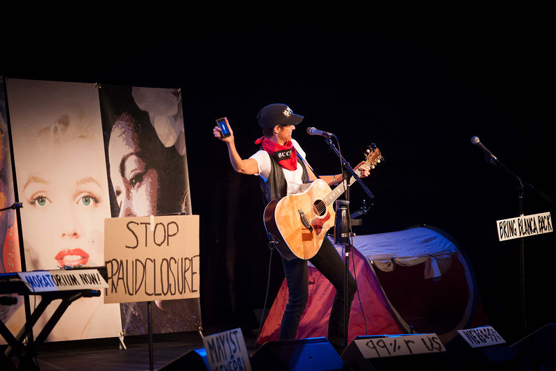 Michelle Shocked Roccupy - Open Space Vashon Island
