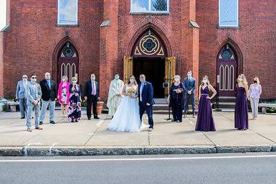 The Entire Wedding Party