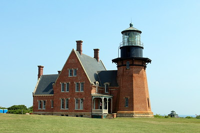Block Island Lighthouse and quarters