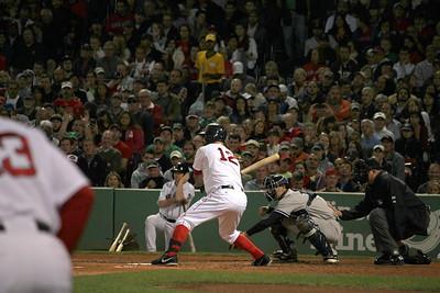 Mike Napoli at Bat