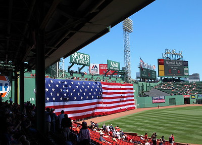 Opening Ceremony at Fenway