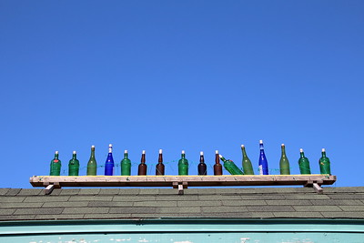 Bottles on a Roof