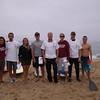 CVMM Open Water Team!<br /> Nancy, Gabe, Carolyn, Mike, Eric, Lindsay, Cyndy... and ahem - escort paddler boy?