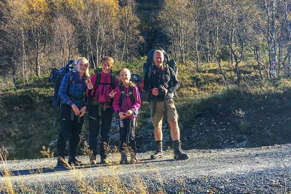 Fjelltur til Bordfjellet i Etne 8-9 oktober 2016