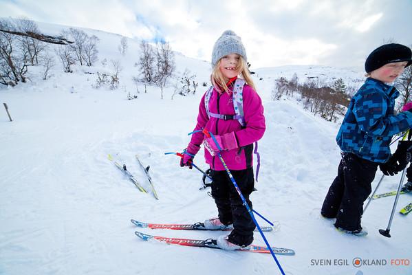 Olalia skitur 9 og 10 feb 2013