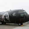 C-130 Hercules special paint.
