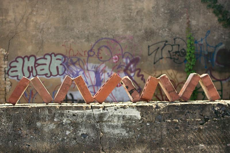 """Urban Bricks"" (digital photography) by Jennifer Kay"