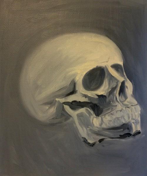 """Never Done"" (oill) by Caroline Basden"