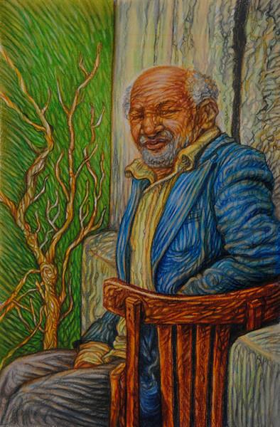 """""""Old Cairo"""" (watercolor & colored pencil) by Lori Fredricks"""