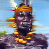 """Chief"" (oil on canvas) by Gerry Chapleski"