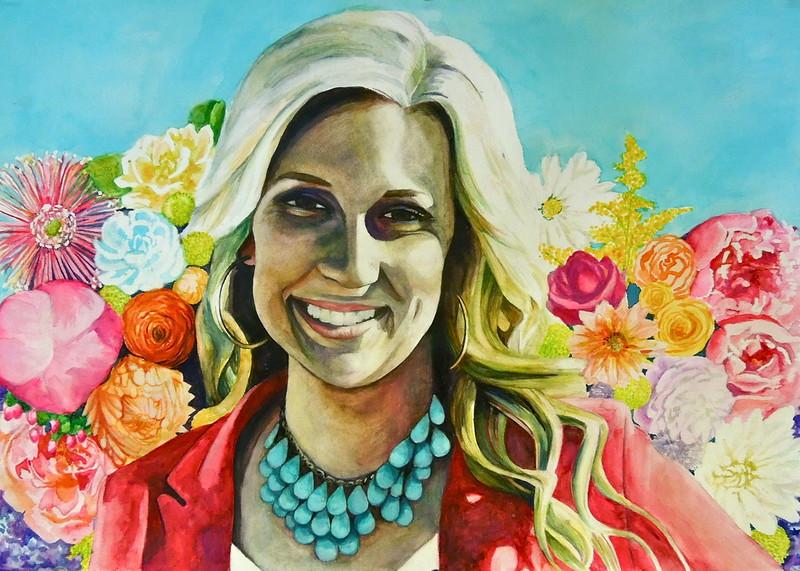 """Alyenna"" (watercolor) by Rosalin Kelly"
