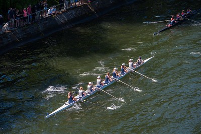 Junior Women's V8. Let's Salute the Only Baker Victory of the Day.