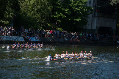 The Only Race that a Husky Boat Finished Second.