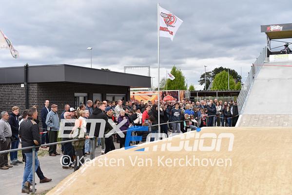 Opening Joël Smets Circuit BMX 2000 Dessel