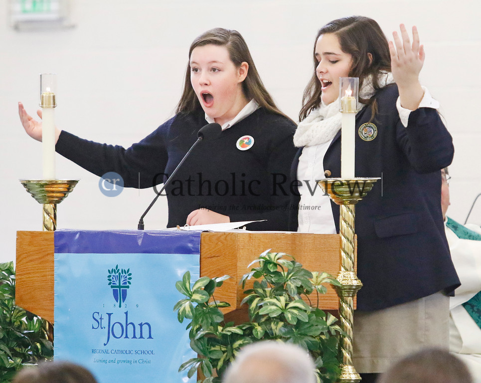 Opening Mass for Catholic Schools Week - 2016