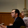 KRISTOPHER RADDER - BRATTLEBORO REFORMER<br /> During opening arguments, defense attorney Ian Carleton tries to convince the jury that police didn't catch the real killer in a double homicide case, in Windham County Superior Court, Criminal Division on Friday, June 9, 2017. O'Neill is accused of killing two men in Townshend in November 2014.