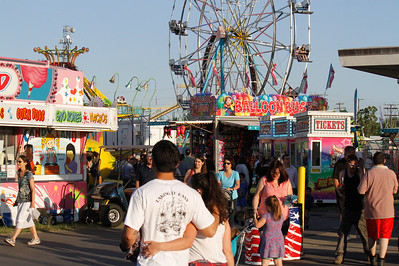 Opening day of the Silver Dollar Fair Thursday May 25, 2017 at the Silver Dollar Fairgrounds in Chico, California. (Emily Bertolino -- Enterprise-Record)