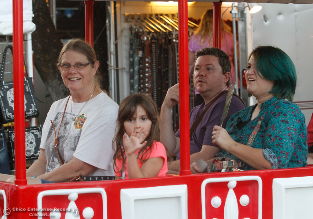 . Opening night of the 2017 Butte County Fair Thursday August 24, 2017 in Gridley, California. (Emily Bertolino -- Mercury-Register)