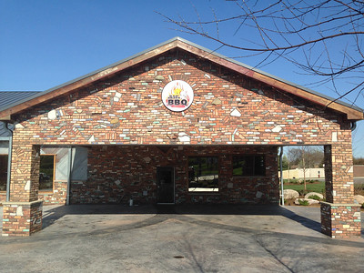 The newest Bad Brad's BBQ location, in Orion Township, had its soft open on Friday, May 6, 2016, followed by a grand opening on Sunday. Photo by Nicole M. Robertson