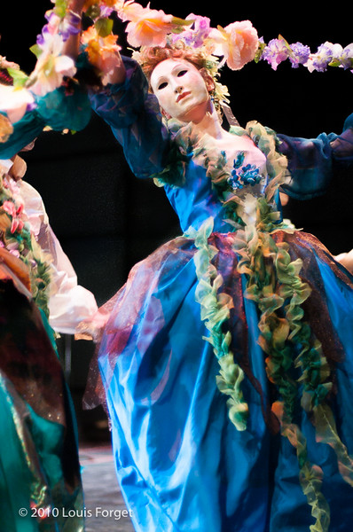 Caroline Copeland of the New York Baroque Dance Company in rehearsal of Opera Lafayette's production of Gluck's Armide