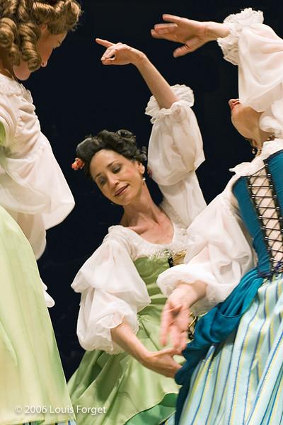 "Members of the New York Baroque Dance Company in Opera Lafayette""s production of Mozart's Idomeneo"