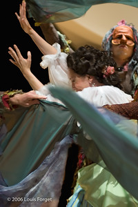 "Members of the New York Baroque Dance Company in Opera Lafayette""s production of Mozart's Idomeneo"
