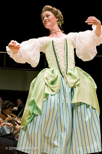 "Caroline Copeland of the New York Baroque Dance Company in Opera Lafayette""s production of Mozart's Idomeneo"