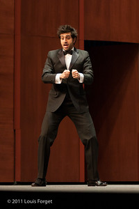 Tenor Karim Sulayman in Opera Lafayette production of Grétry's Le Magnifique