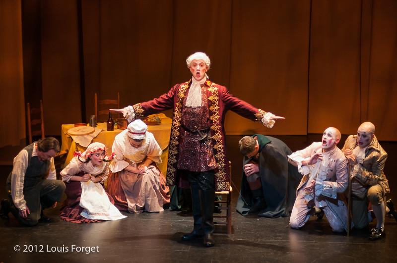 Cast in Opera Lafayette's production of Le Roi et le fermier by Monsigny