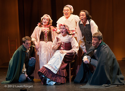 Cast in Opera Lafayette's production of Le Roi et le fermier by Monsigny
