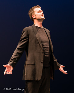 Tenor Aaron Sheehan in Opera Lafayette's production of Actéon by Charpentier