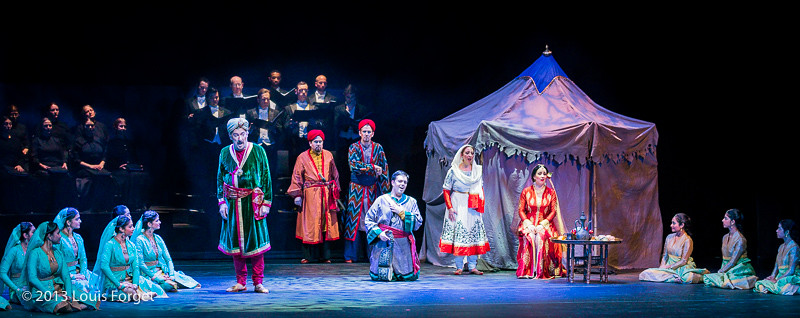 Scene from Opera Lafayette's production of Lalla Roukh by Félicien David