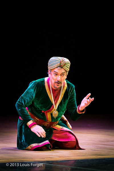 Bernard Deletré in Opera Lafayette's production of Lalla Roukh by Félicien David