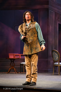 Alex Dobson in Opera Lafayette's production of Mozart's Cosi fan tutte at the Opéra Royal, Versailles