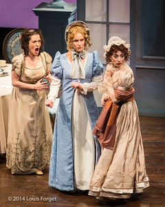 (L. to R.) Claire Debono, Blandine Staskiewicz and Pascale Beaudin In Opera Lafayette's production of Les Femmes Vengées By Philidor