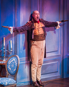 Jeffrey Thompson in Opera Lafayette's production of Les Femmes Vengées by Philidor