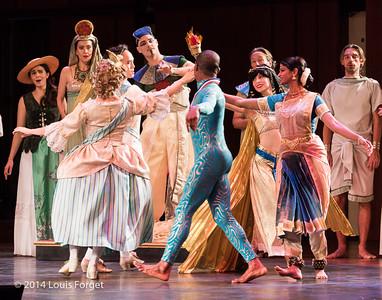 Rehearsal of Opera Lafayette's production of Rameau's Les Fêtes de l'Hymen et de l'Amour ou Les Dieux d'Égypte
